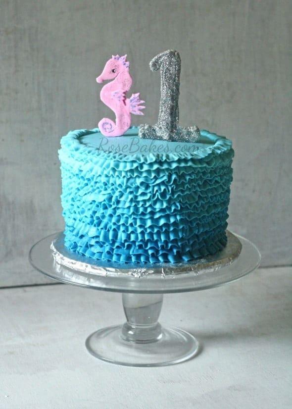 Under the Sea Smash Cake