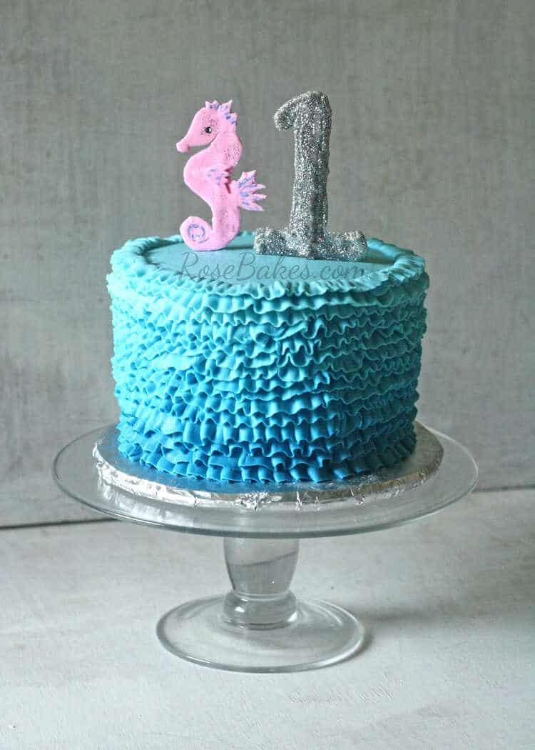 Under The Sea Smash Cake Rose Bakes