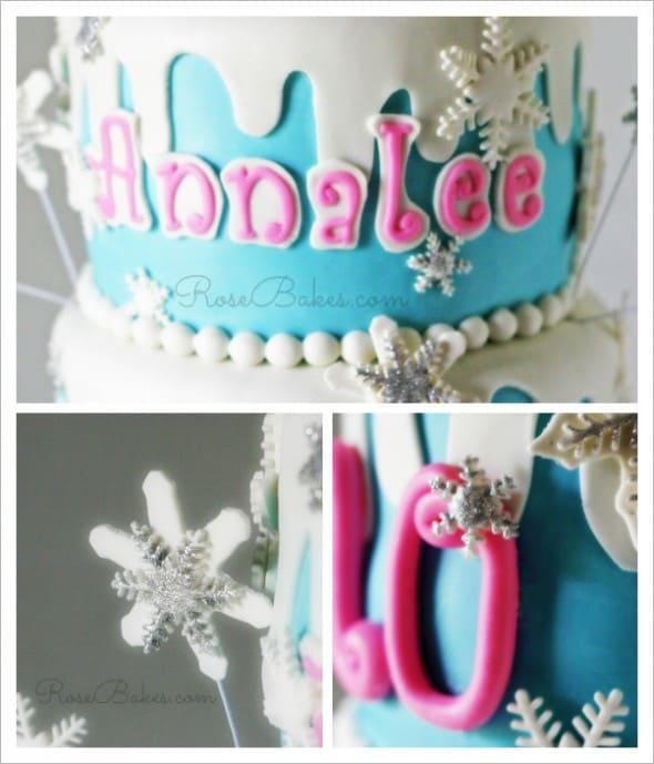 Winter Wonderland Details Collage