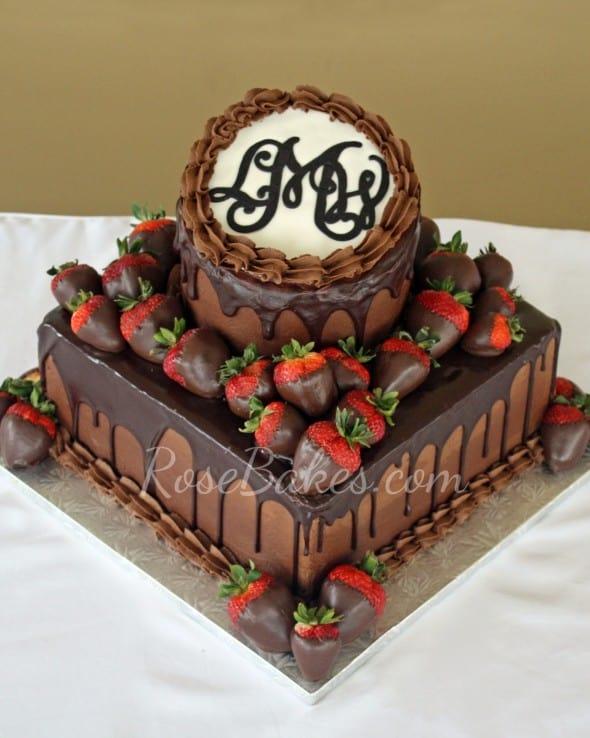 I Dark Chocolate Fruit Cake
