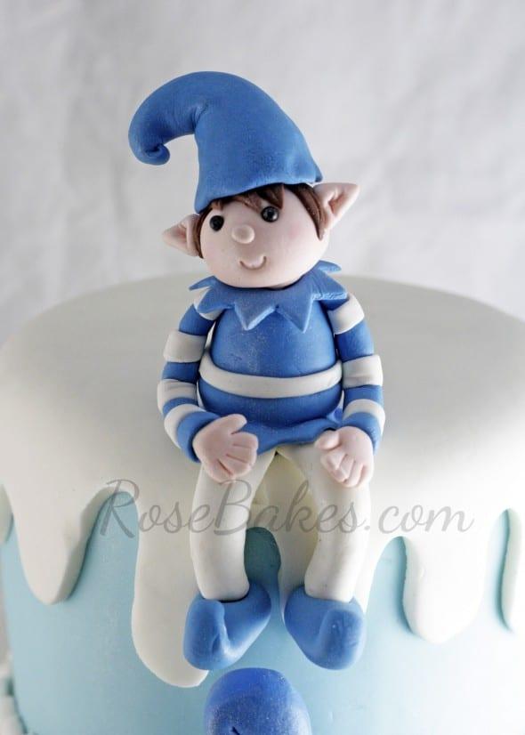 Elf Cake Topper
