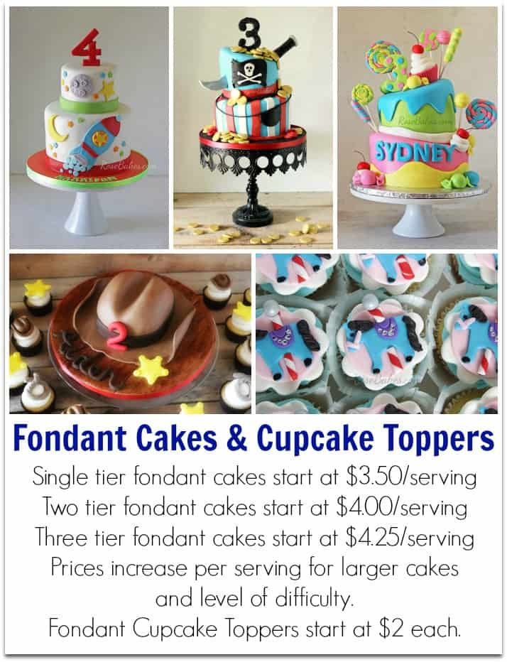 Tier Birthday Cakes Prices