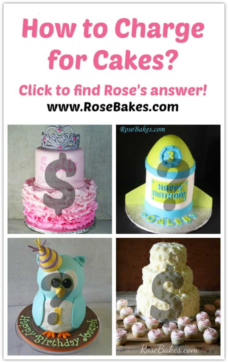 How Much Does A  Inch Fondant Cake Cost