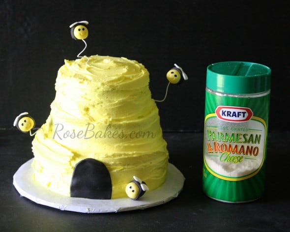How to Make an Easy Beehive Cake
