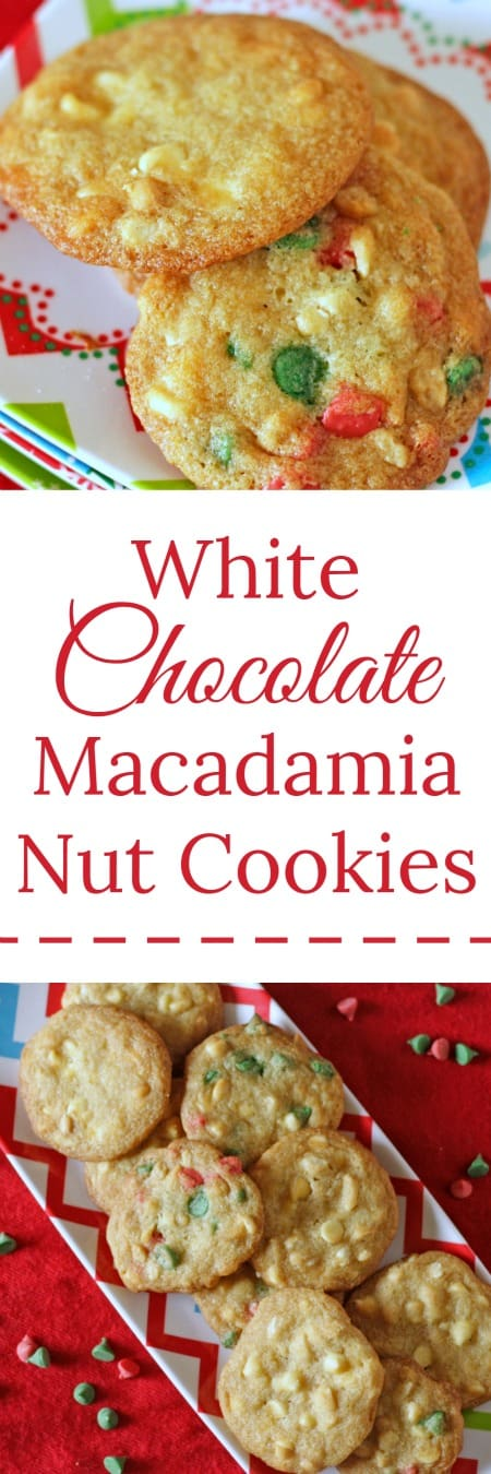 White Chocolate Macadamia Nut Cookies | RoseBakes.com