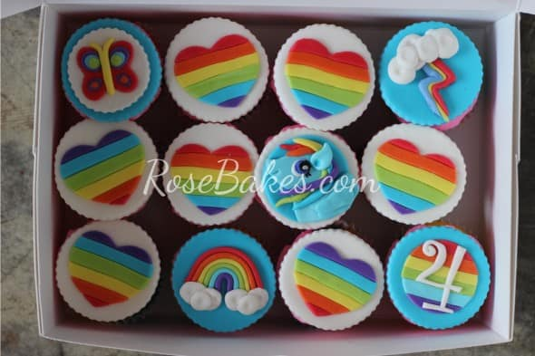 Boxed My Little Pony Cupcakes
