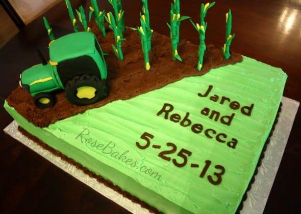 Corn Farming Cake