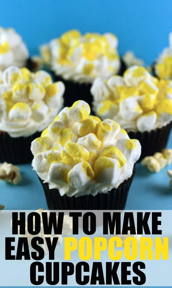 How to Make Popcorn Cupcakes by RoseBakes