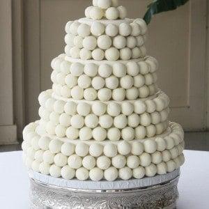 Cake Balls Wedding Cake 03 WM