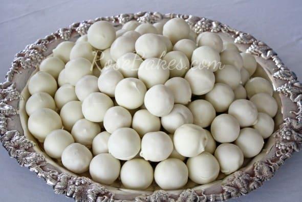Cake Balls for Wedding WM
