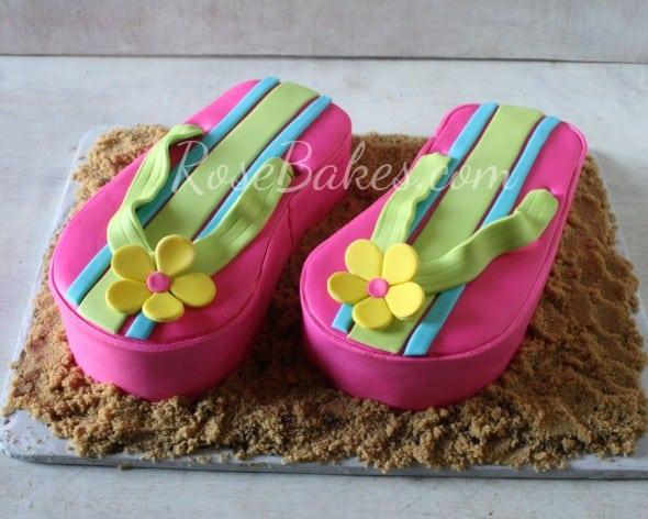 Flip Flops Cake