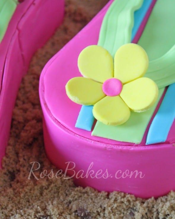 Flower on Flip Flop