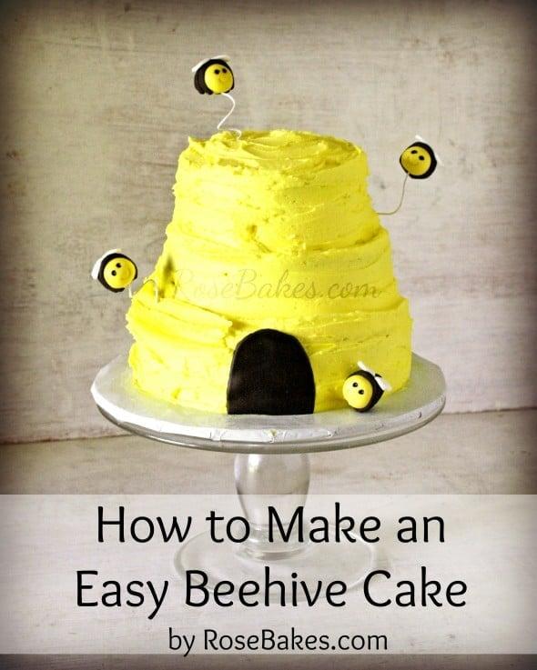 How To Make A Beehive Cake