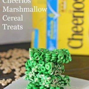 Cheerios Marshmallow Cereal Treats