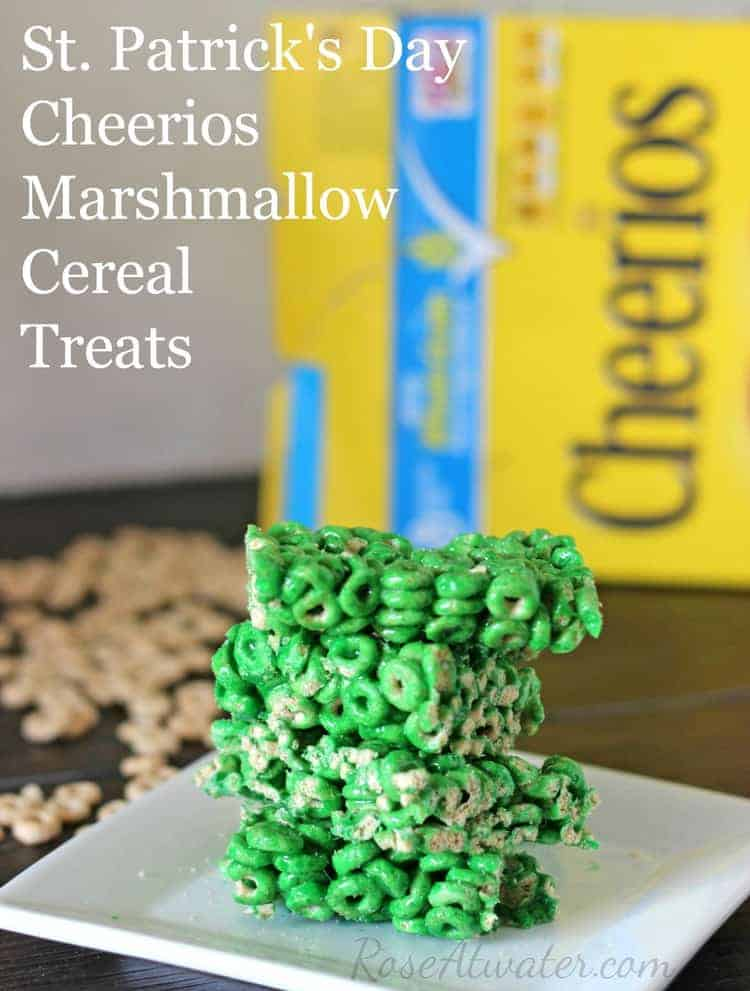 Cheerios Marshmallow Cereal Treats