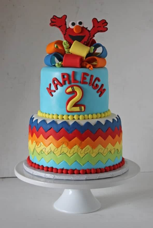 What Tip To Use For Elmo Cake