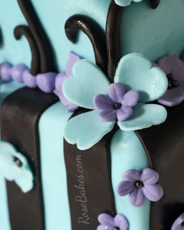 Tim Burton S Corpse Bride Bridal Shower Cake Rose Bakes