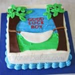 Hammock Retirement Cake