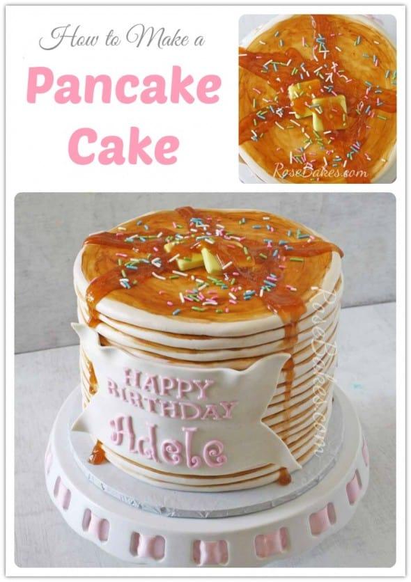 How to Make a Pancake Cake
