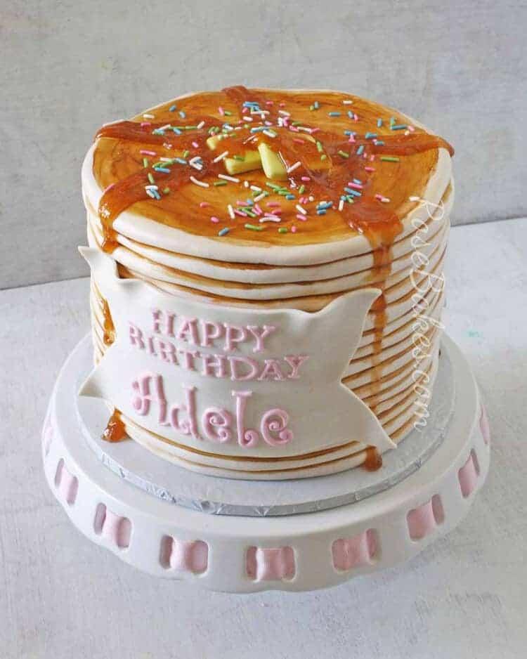How to Make a Pancakes Cake