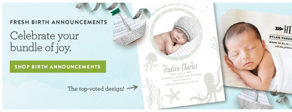 Shop Birth Announcements at Minted