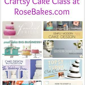 Win a Craftsy Cake Class