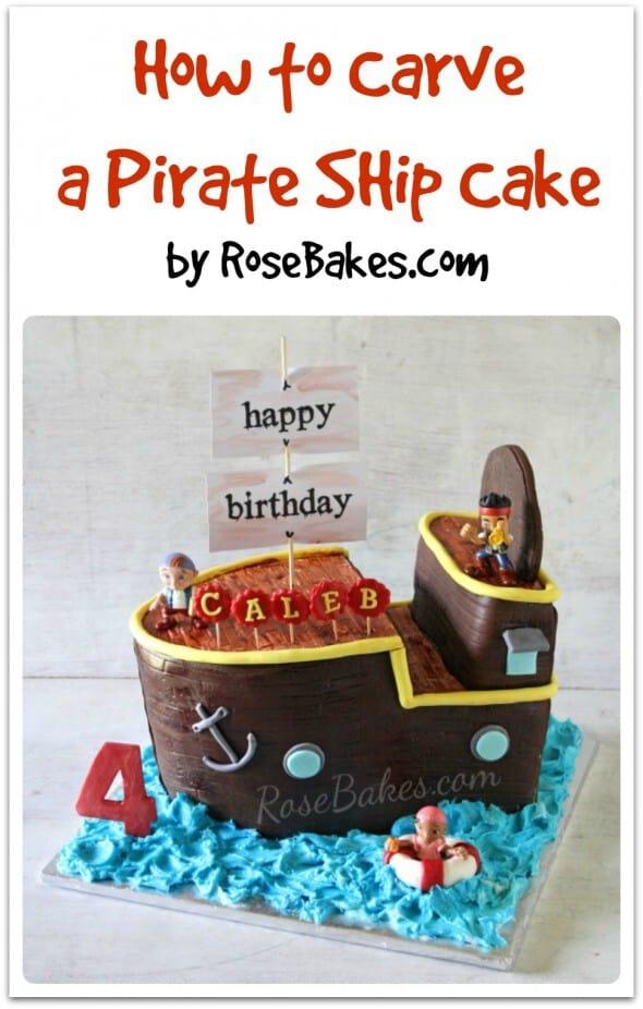 priate ship cakes how to make