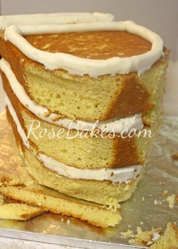 How to Carve a Ship Cake 06