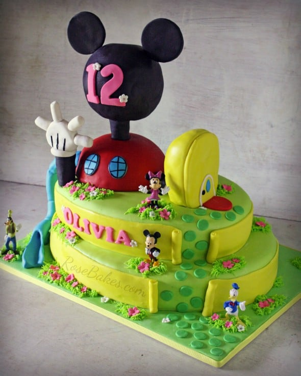 Mickey Mouse Clubhouse House Cakes Mickey Mouse Clubhouse Cake