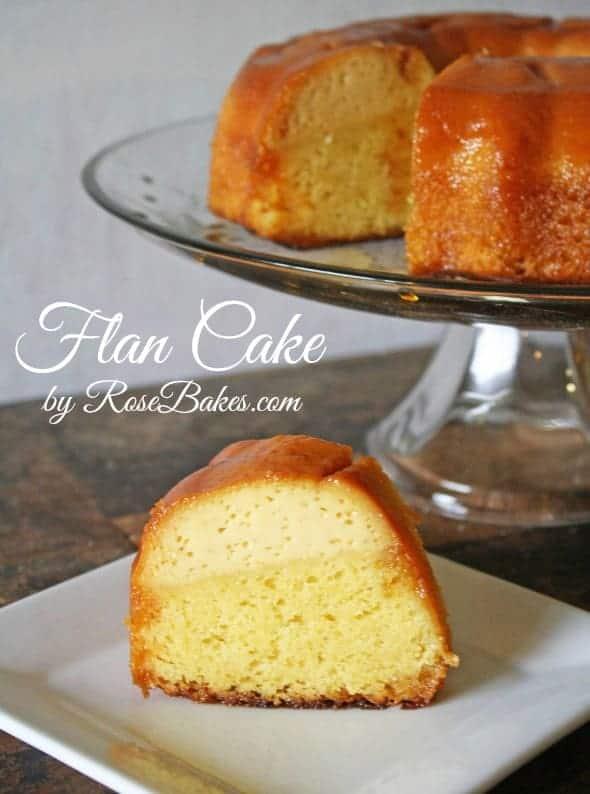 Flan Cake Recipe wm