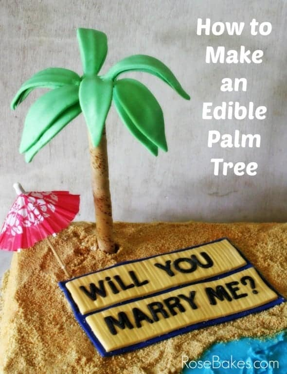 How to Make an Edible Palm Tree