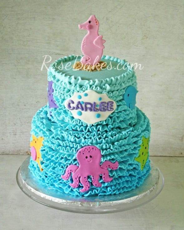 Ercream Under The Sea Cake