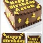 Music Sheet Cake