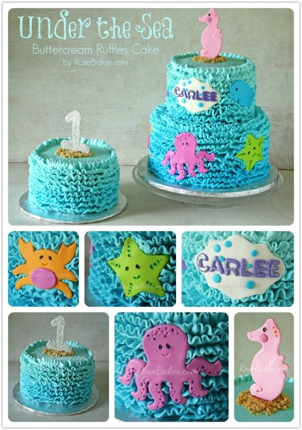 Under the Sea Cake and Smash Cake