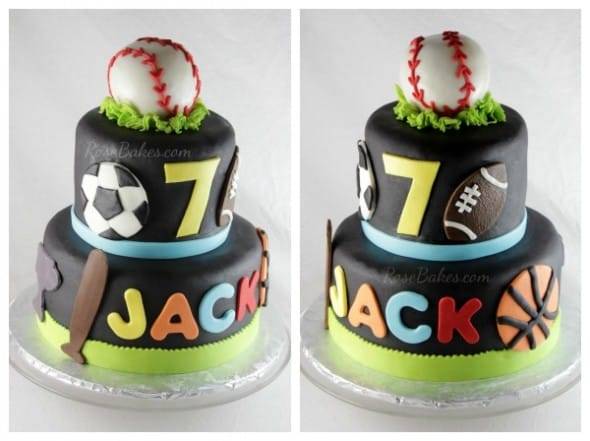 Lets Play Ball Cake