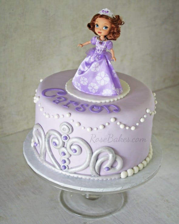 Cake Images Of Sofia The First : Sofia the First Cake - Rose Bakes