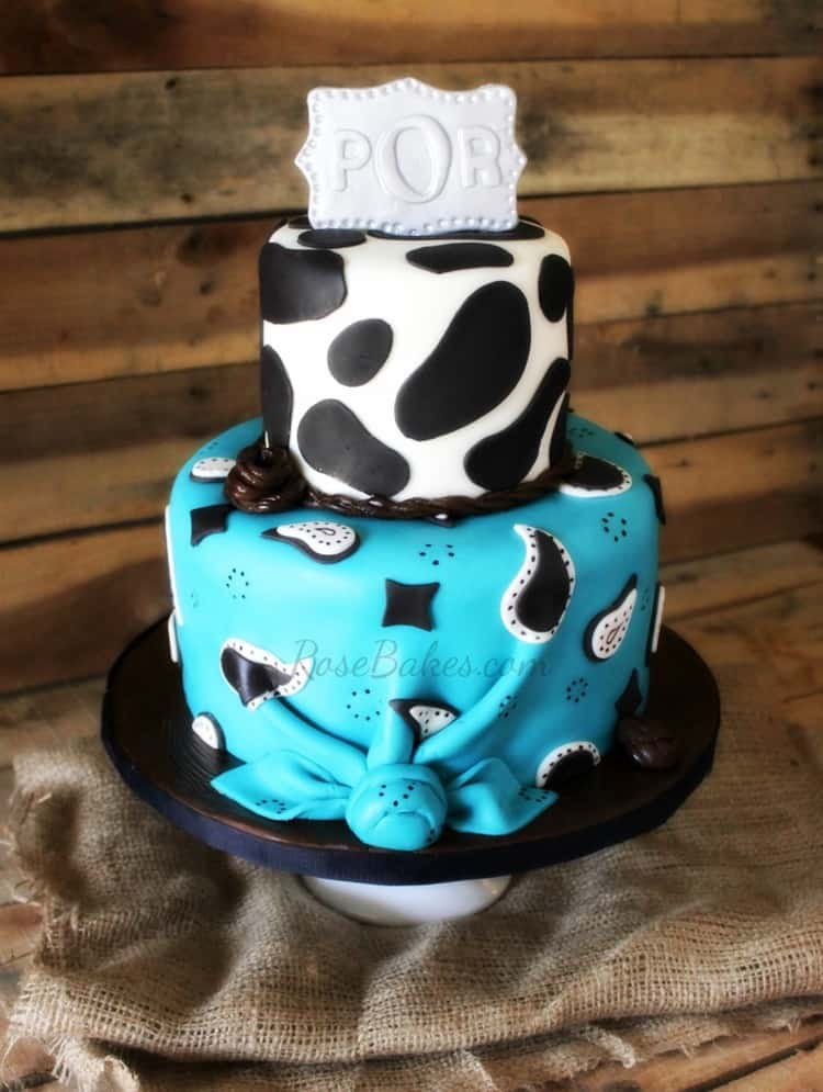 cowboy cake and smash cakes rose bakes