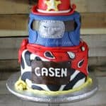 Cowboy Cake with Red Hat