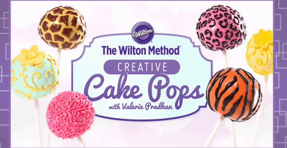 Click to sign up for this FREE Craftsy Class: Creative Cake Pops!
