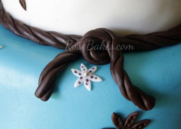 Fondant Rope Knot