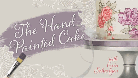 Click HERE to Sign up for this FREE Craftsy Class: The Hand Painted Cake!