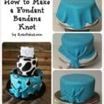 How to Make a Fondant Bandana Knot