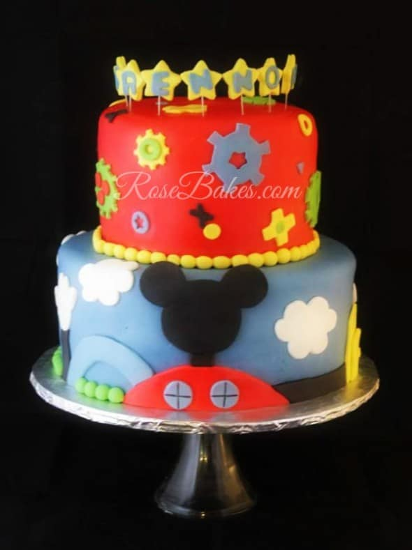 mickey mouse clubhouse cake mickey mouse cake ideas bakes 5883