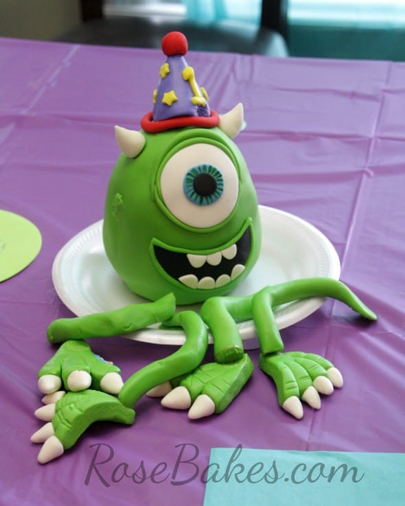 Monsters Inc Cake Deconstructed
