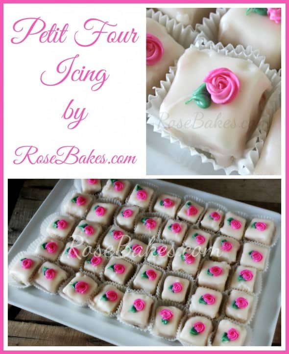 Petit Four Icing Recipe