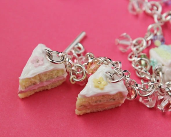 Slices of Vanilla Cake Top