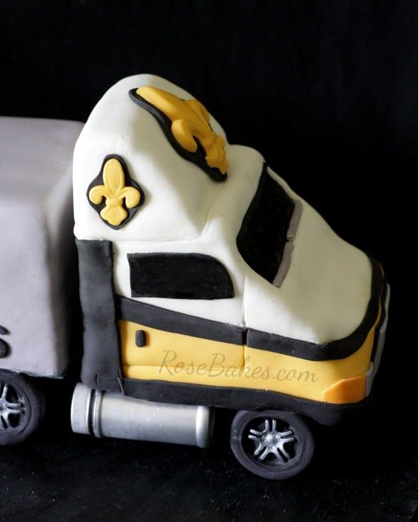 New Orleans Saints 18 Wheeler Truck Cab