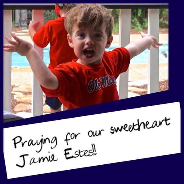 Praying for Jamie