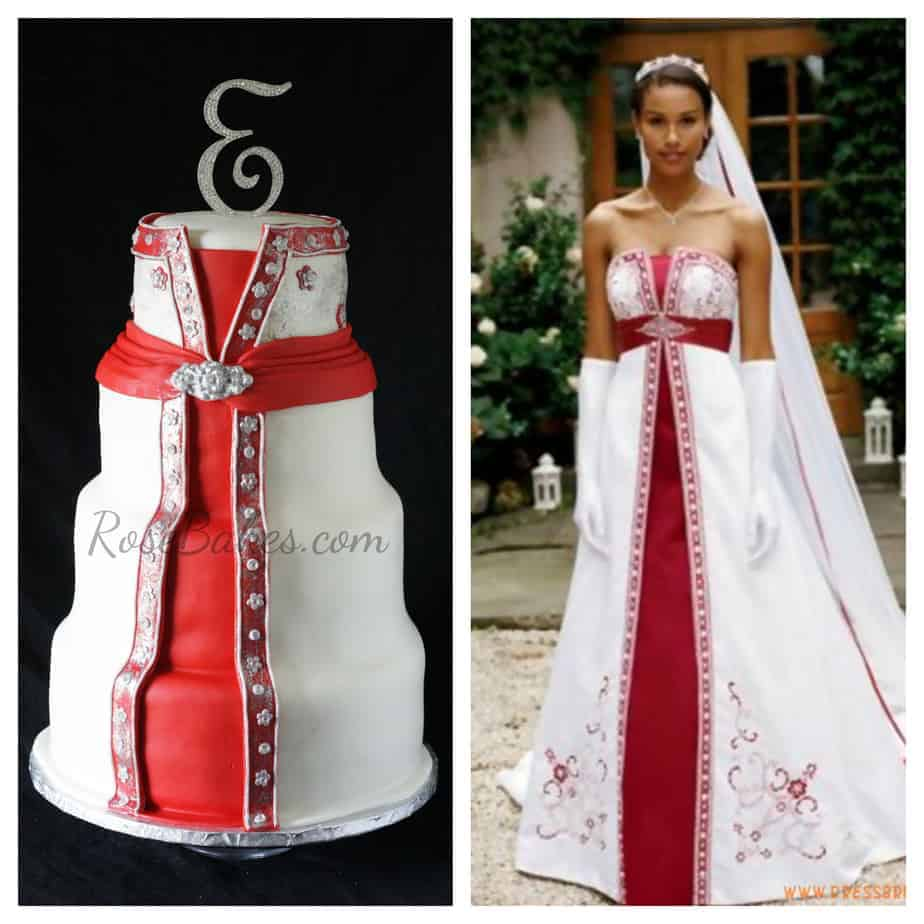Candy Apple Wedding Dress