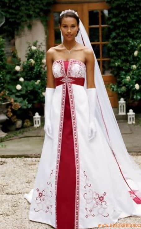 Wedding Dress Cake Front
